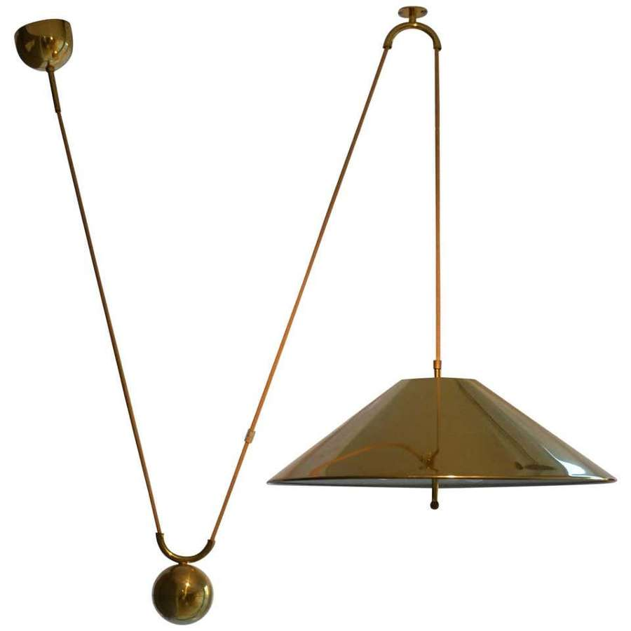 Counterbalance Brass Pendant 'Keos' by Florian Schulz
