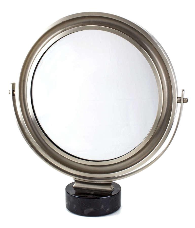 Round Artemide Table Mirror Sergio Mazza, Italy, 1960s