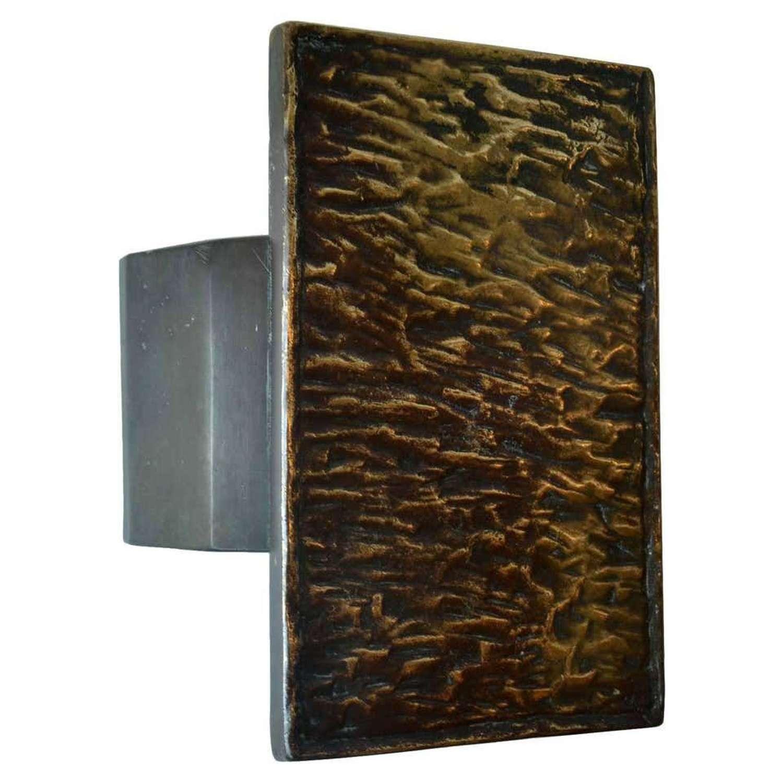Mid-Century Modern Bronze Push and Pull door Handle