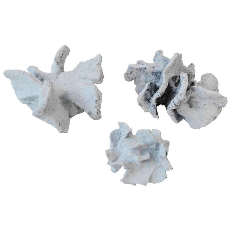 Abstract Sculpture group Chalk White Ceramic by Bryan Blow