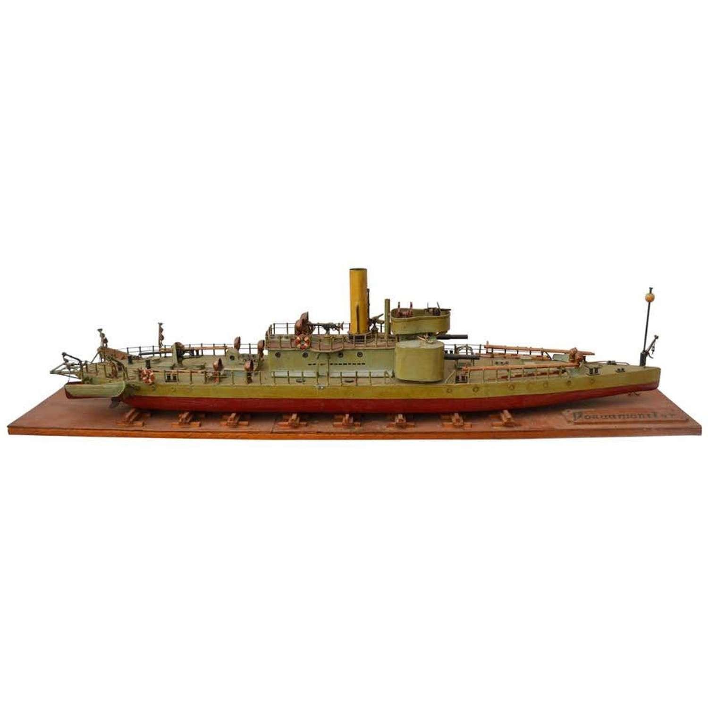 Model of Torpedo Boat 'Donau Monitor'
