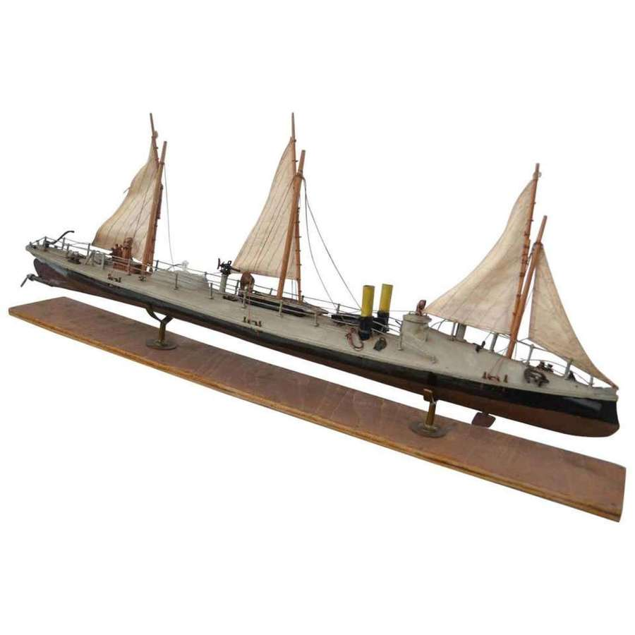 Model of Torpedo Boat Klasse Batum, 1880