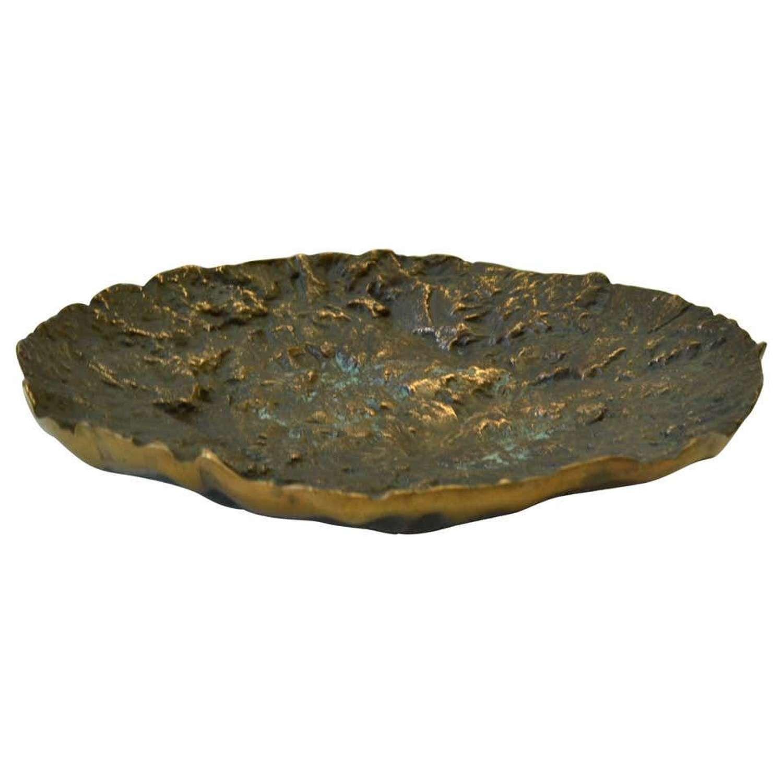 Mid-Century Modern Bronze Bowl by Kaj Blomqvist