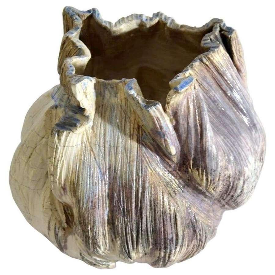 Mid-Century Modern Dutch Studio Pottery Vase