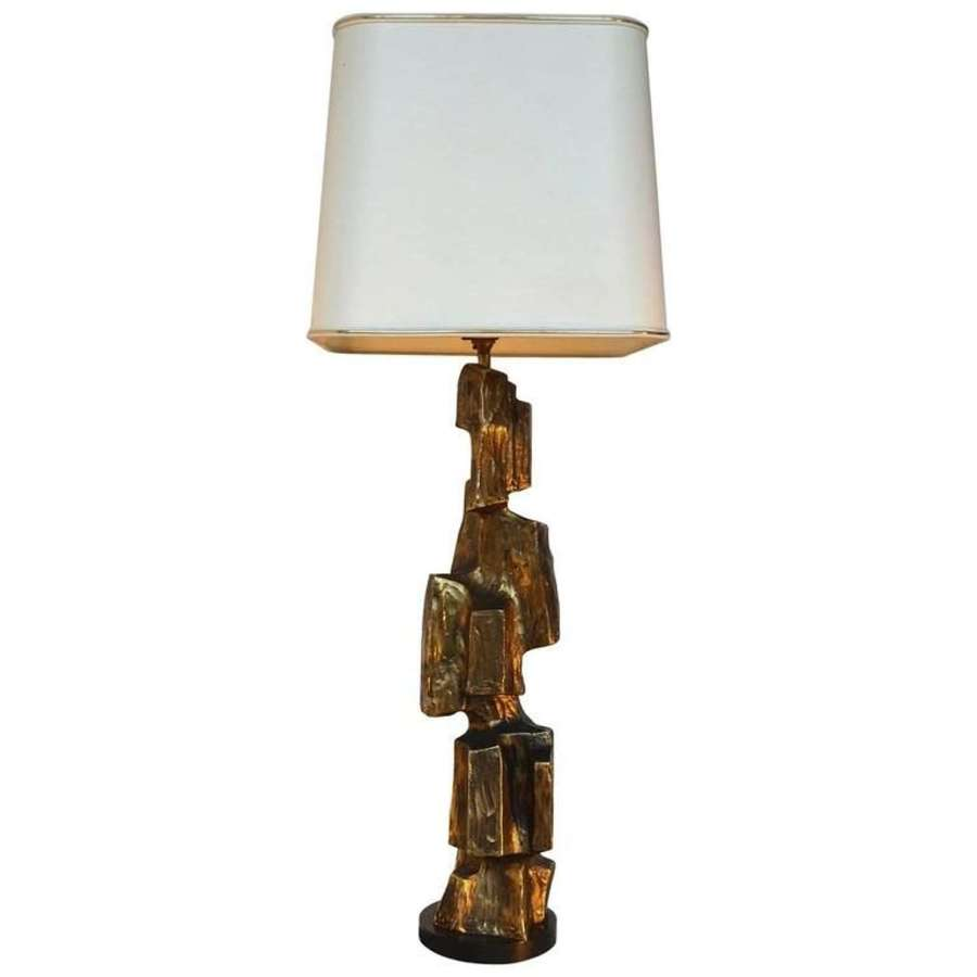 Sculptural Table Lamp by Maurizio Tempestini for Laurel