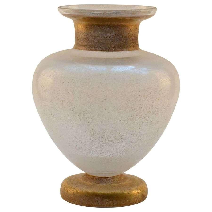 Large Neo Classical Seguso Scavo Vase