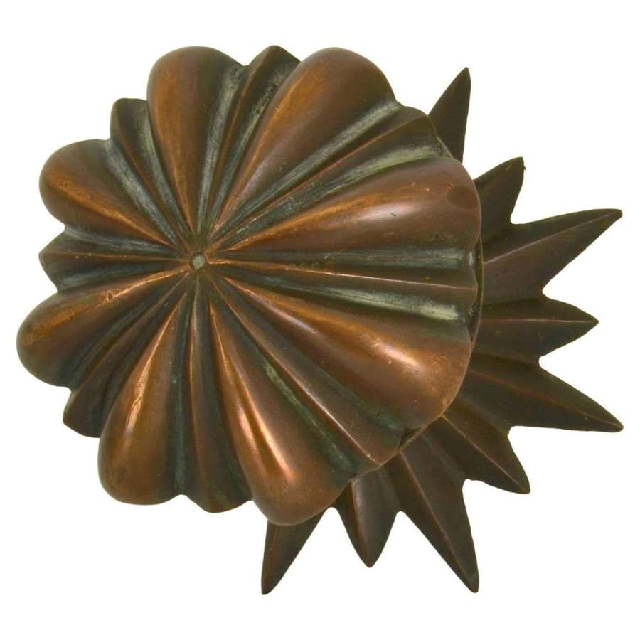 Classic Bronze Push and Pull Door Handle