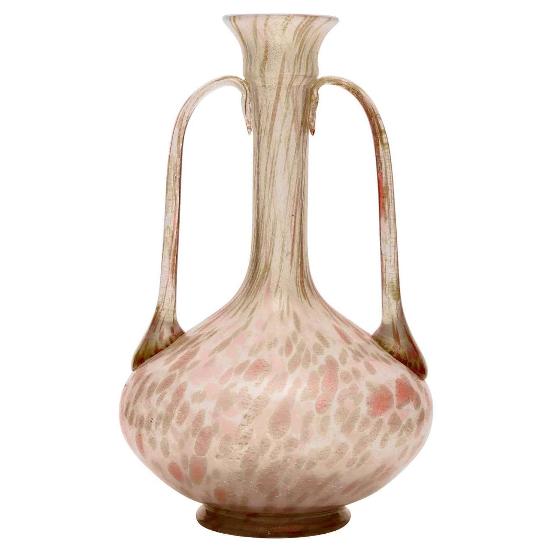 Amphora Blown Opalescent Glass by Salviati, circa 1880